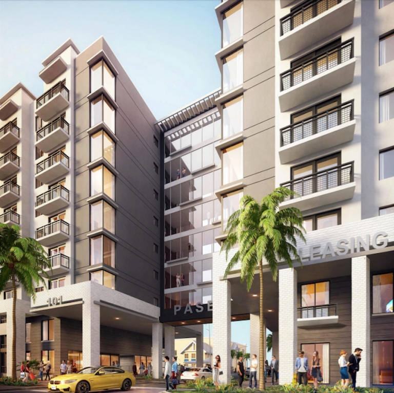 HARBORSIDE AT HIDDEN HARBOUR-Pompano Beach Redevelopment-proposed renderings. Courtesy photo.