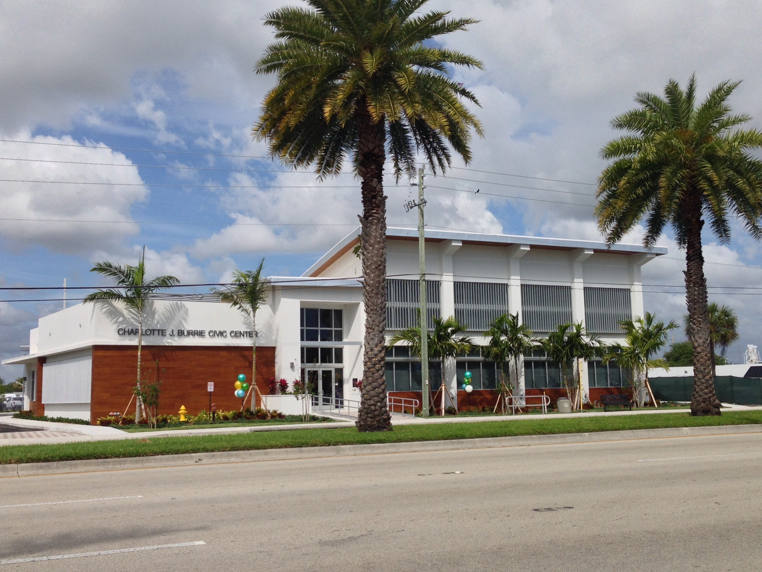 POMPANO BEACH: Long-Awaited Charlotte Burrie Civic Center