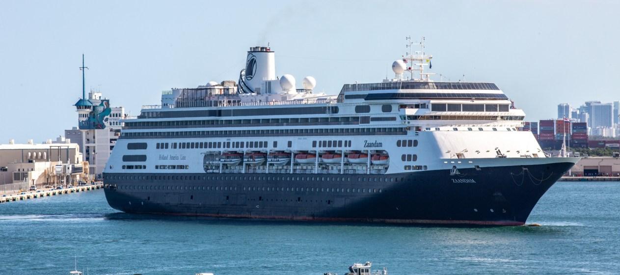 Port Everglades Coronavirus Cruise Ship Zaandam enters Port Everglades, Broward County- photo by Joe Yerkovich