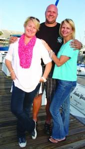 Debbie Edwards, Christian Spieker and Maureen Canada