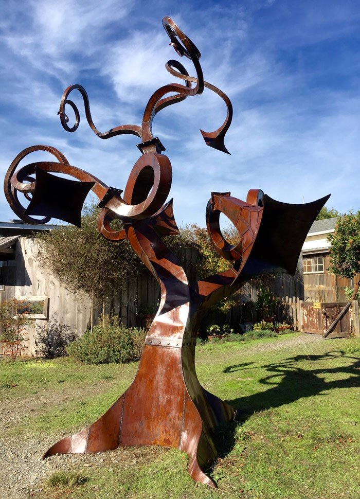 """Olema Tree"" by Diego Harris, at Olema Cottages"