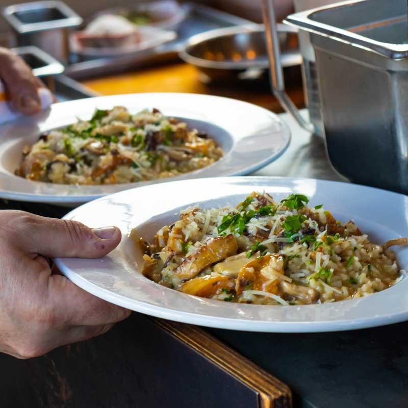 local mushrooms seasonal farm to table point reyes