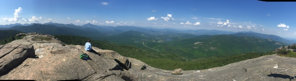 This picture pretty much sums up my trip to the Adirondacks this summer. Open, expansive, peaceful.