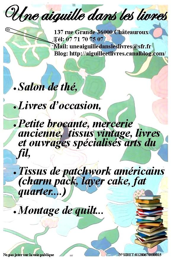 Une Aiguille Dans Les Livres : aiguille, livres, Aiguille, Livres, Châteauroux, était, Points, Contés…