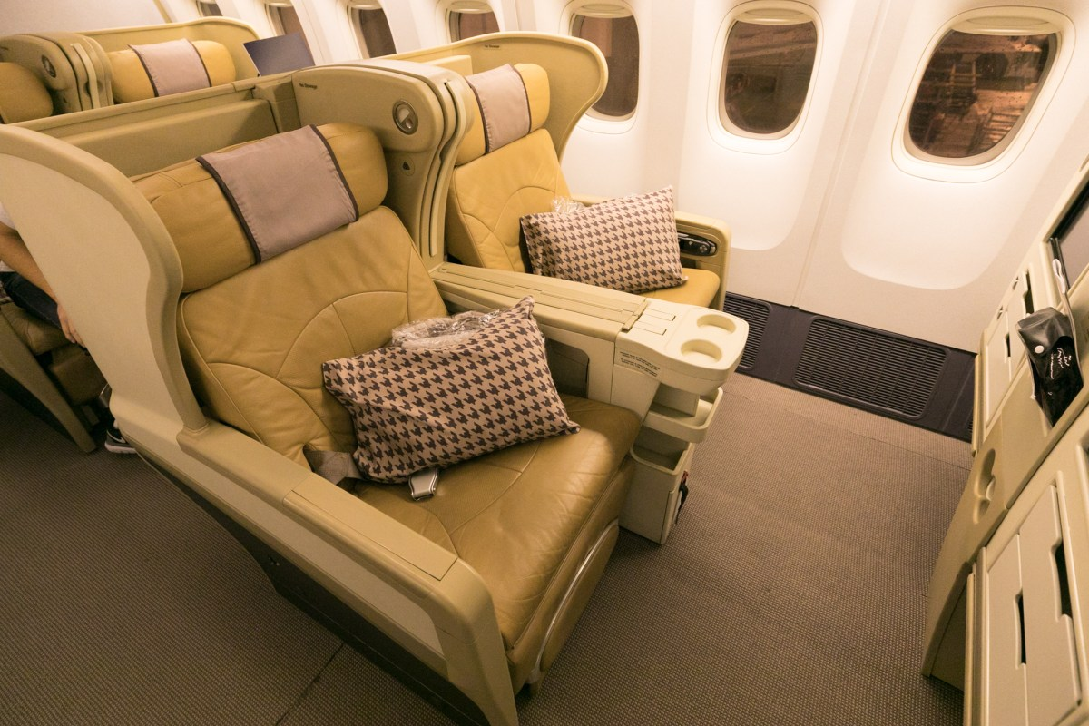 Review - Singapore Airlines 777-200 Business Class Brisbane - Singapore