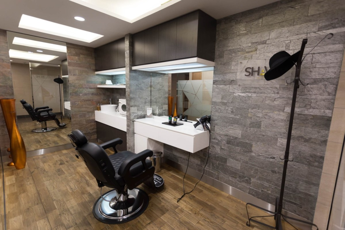 Etihad Has Removed The Style & Shave Facility In The Abu Dhabi Arrivals Lounge