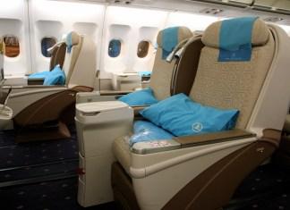 penerbangan business class