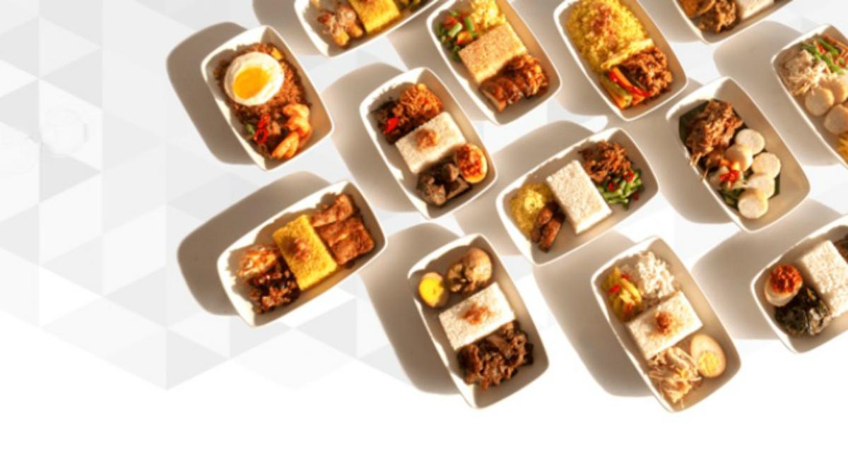 Menu-menu Kuliner Khas Nusantara di Garuda Indonesia