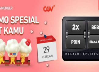 CGV Promo Spesial 29 februari