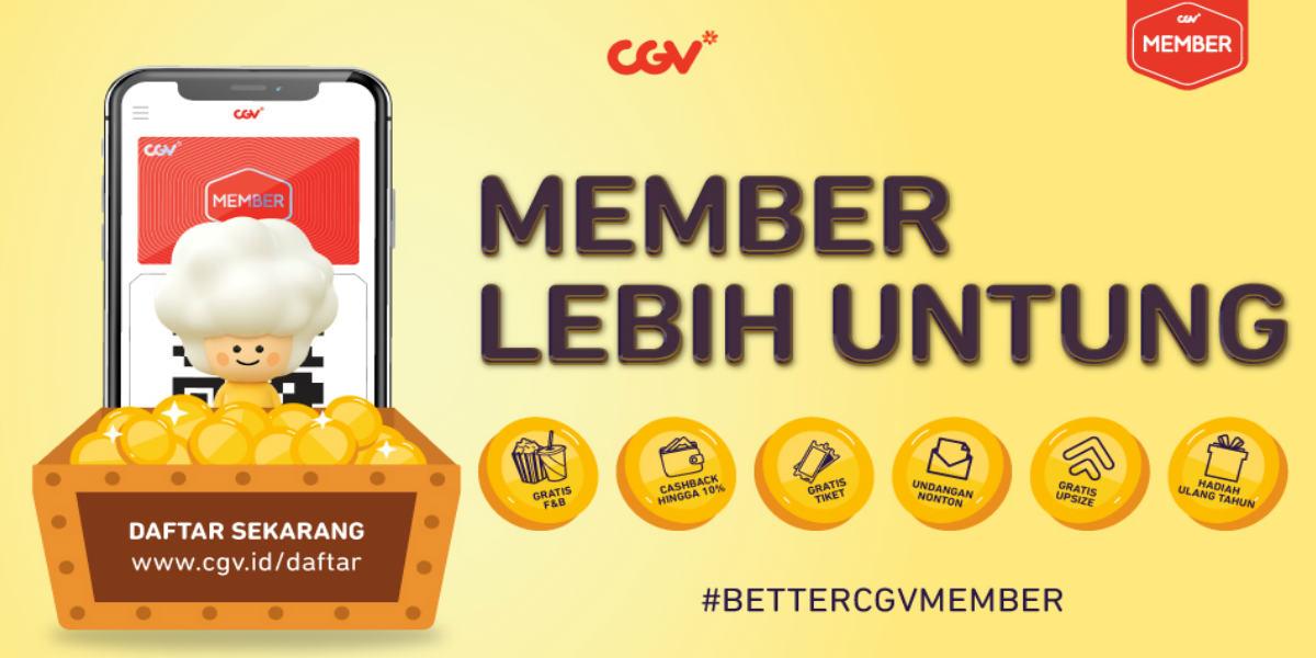 Cashback 50% CGV Point Tanpa Batas 1-11 April 2021