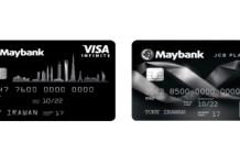 Maybank kartu kredit VISA dan JCB kintan buffet