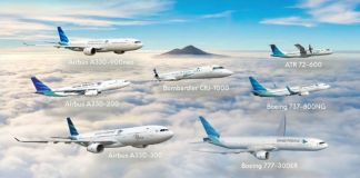Armada Pesawat Garuda Indonesia