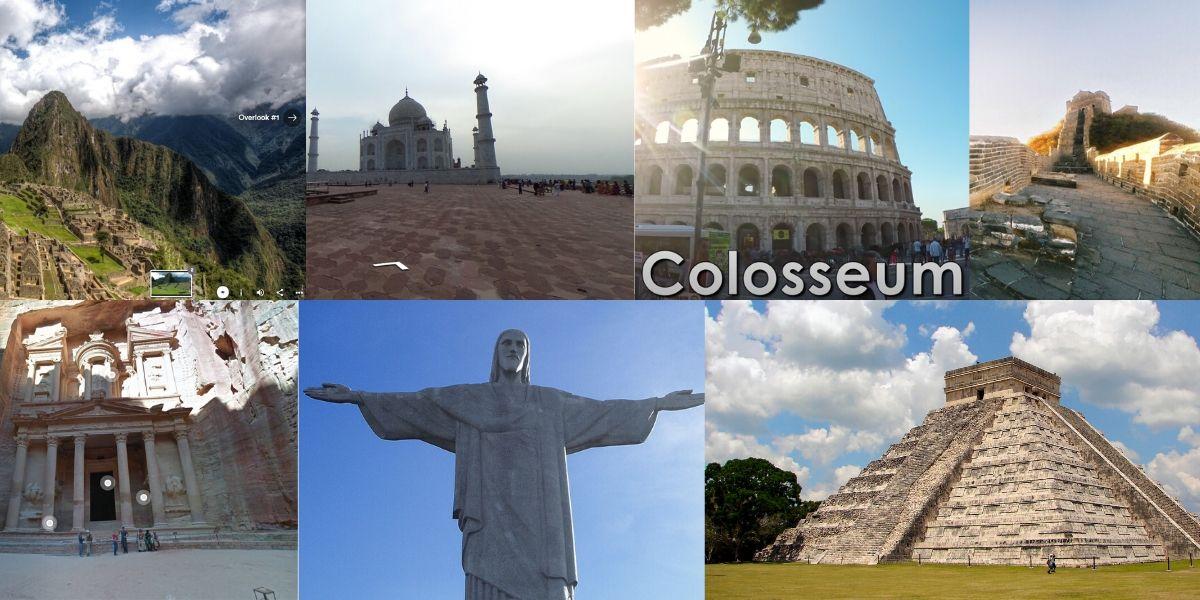 Tur Virtual ke 7 Keajaiban Dunia