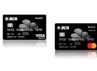 kartu kredit BCA VISA Mastercard