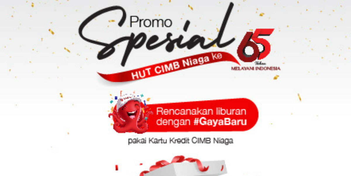 Promo Travel Hut Cimb Niaga Ke 65 Points Geek