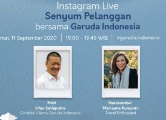 Marianne Garuda Indonesia 11 September