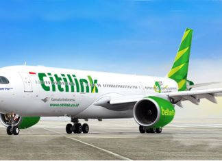 pesawat Citilink A330-900neo citilink gratis snack