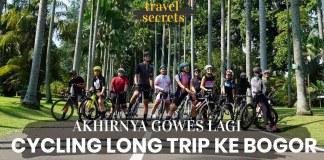 Travel Secrets sepeda menuju bogor