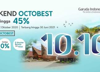 Weekend OCTOBEST Garuda Indonesia