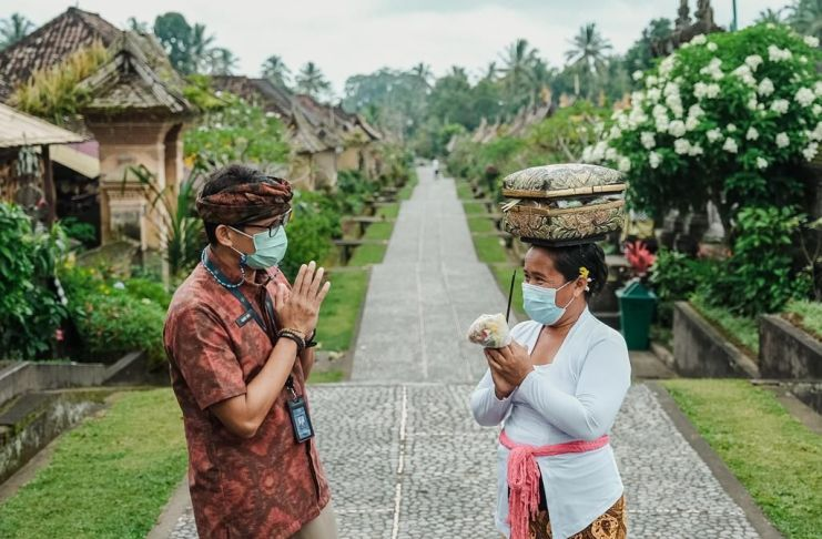 Desa Panglipuran Bali Akomodasi Wisata