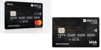 Digibank Visa Infinite dan Mastercard Black