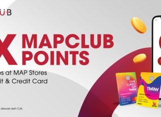 TMRW MAPCLUB Bonus Poin 15x Juni 2021