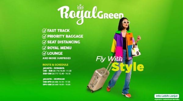 Citilink Royal Green bonus linkmiles