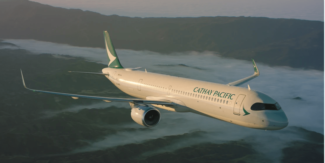 Pesawat Airbus A321neo Cathay Pacific