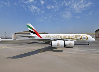 Emirates 50 Livery