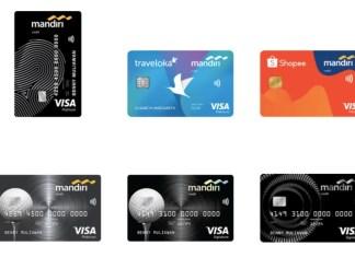 Mandiri Kartu Kredit VISA Platinum