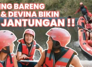 TS Media Agustus 2021 Rafting di Cisadane, Sigi Wimala Diajak Uji Nyali