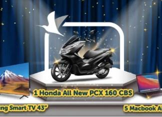 Traveloka PayLater Hadiah Motor PCX
