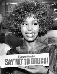 whitney houston just say no.