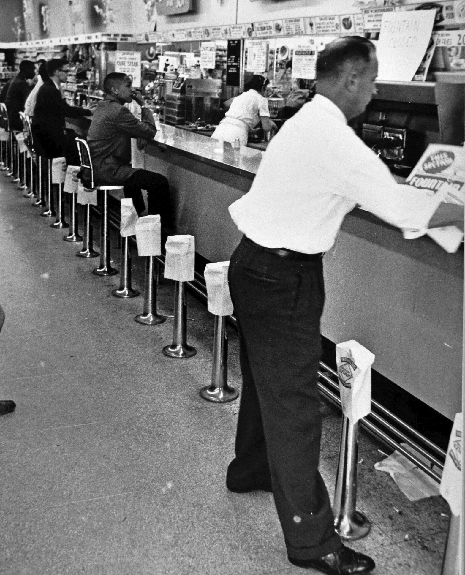 Arlington Lunch Counter Closed