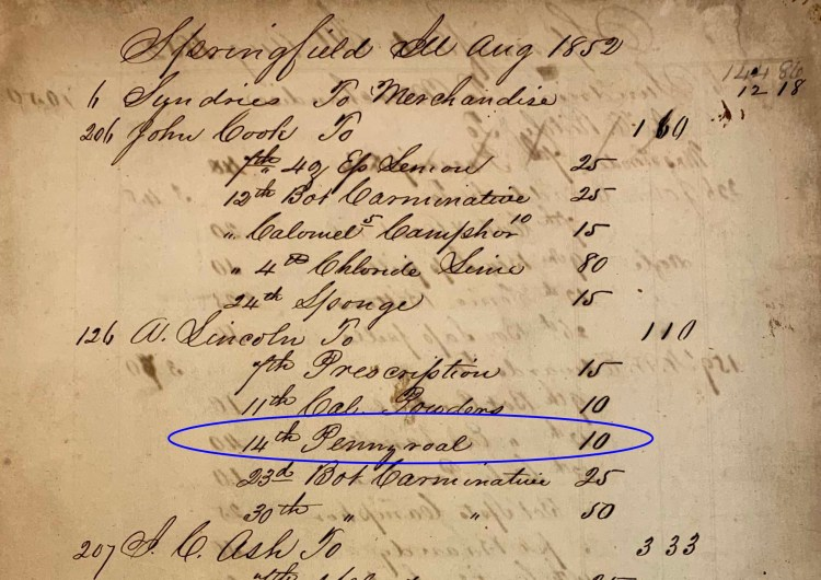 Lincoln daybook
