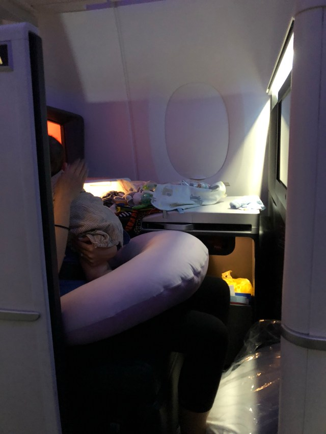Review: A350 Delta One Suite Business Class with Infant