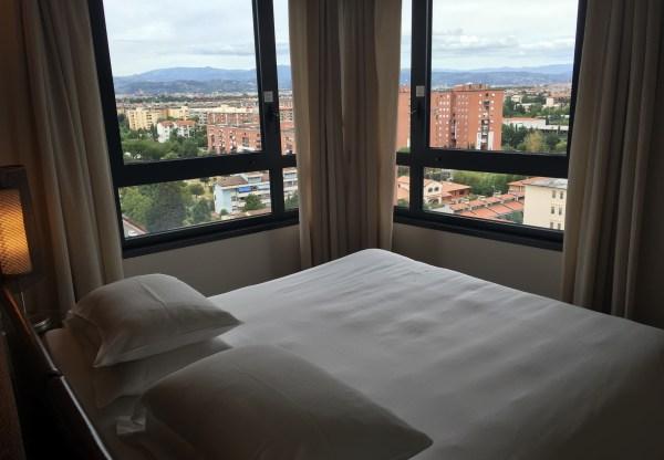 Hilton Florence Metropole Room View