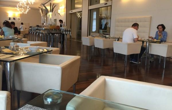 Hilton Florence Metropole Restaurant Seating