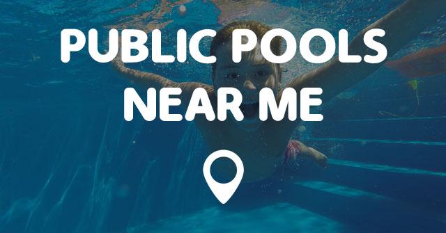 Public Pools Near Me  Points Near Me