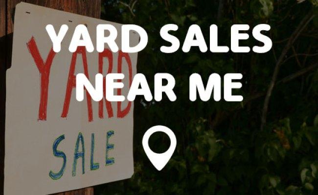 Yard Sales Near Me Points Near Me