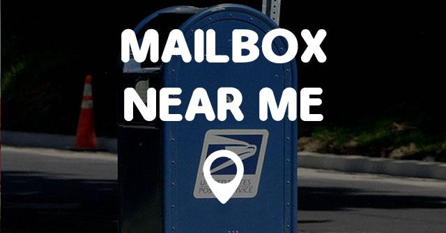 MAILBOX NEAR ME  Points Near Me