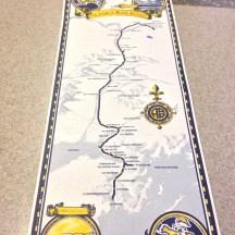 Alaskan Railroad Map