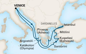 12-Day Mediterranean Empires cruise from Holland America Line
