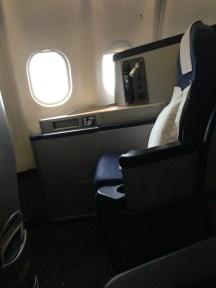 An Envoy Suite seat