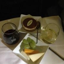 Tiramisu and Cheese Plate