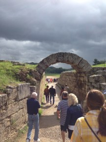 Olympia Stadium Entrance