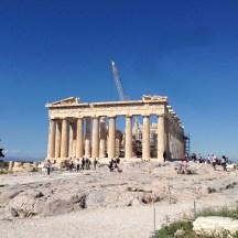 The Parthenon at the Acropolis, Athens