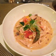 Penang Red Curry Coconut Chicken at Tamarind