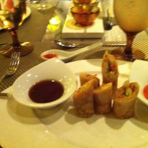 Spring Roll Delights at Tamarind