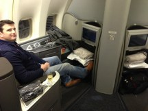 United Global First Class LAX-SYD